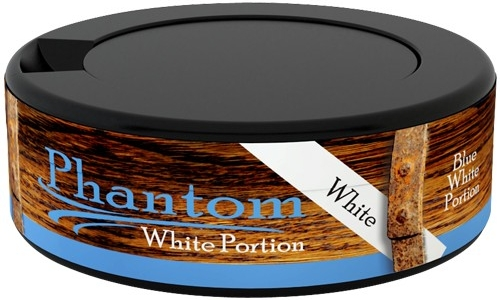 Phantom Classic Blue White Portion Snus, Reviewing a Uniquely Flavored Swedish Snus by V2 Tobacco!