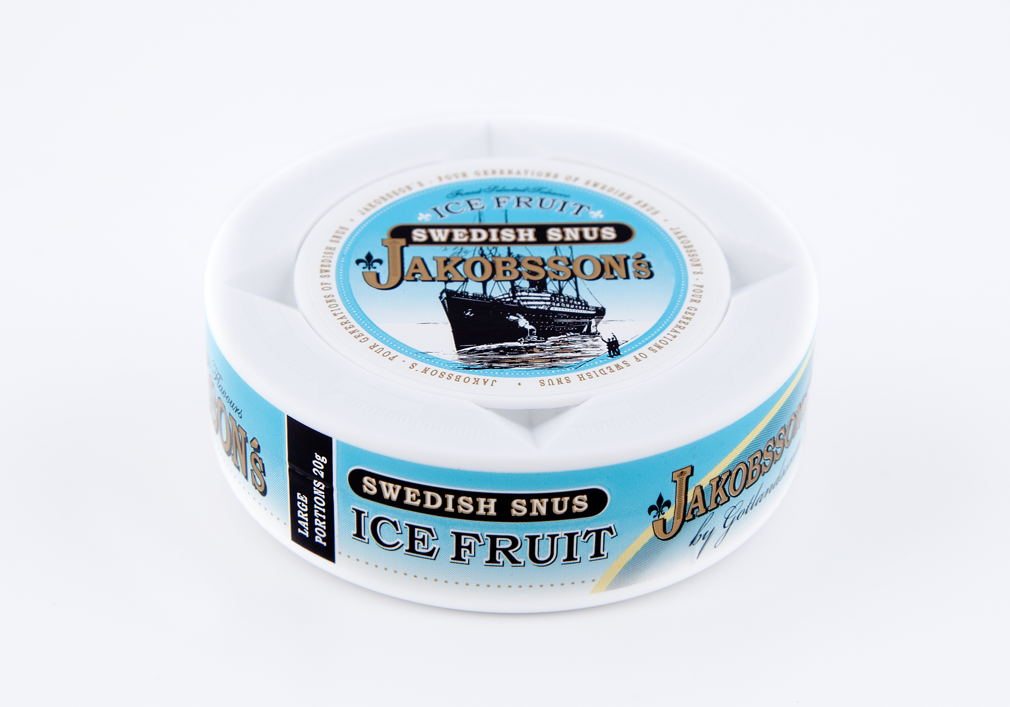 jakobssons ice fruit portion